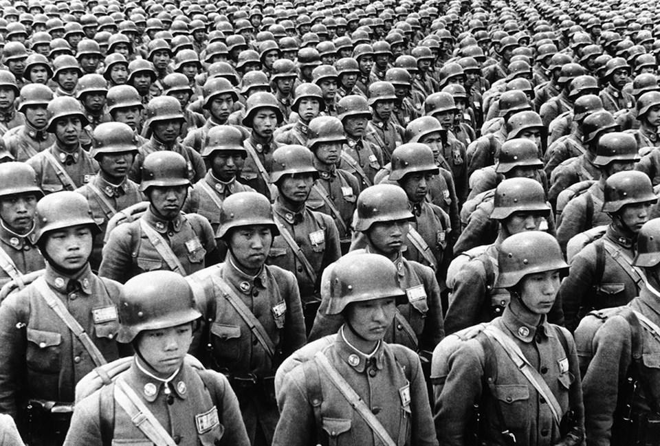 II. Dünya Savaşı'ndan görülmemiş kareler