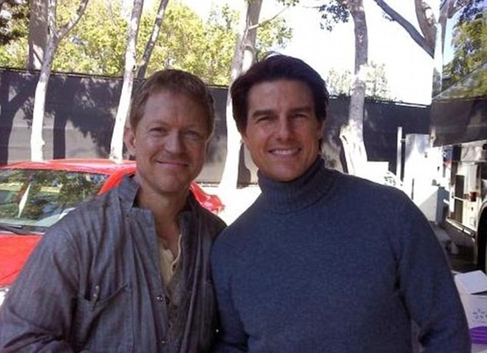 Tom Cruise ile bir arada