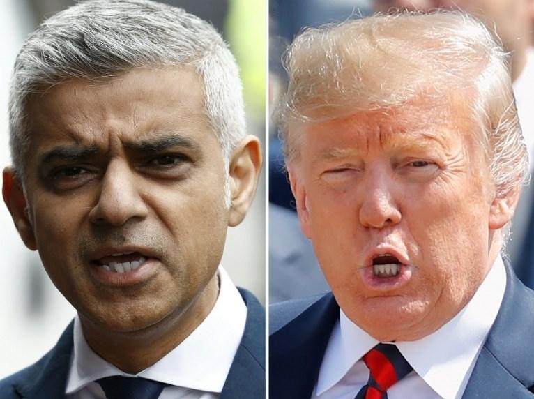 Londra Belediye Başkanı Sadık Khan ile ABD Başkanı Donald Trump'ın birbirlerine karşılıklı eleştirileri devam ediyor.
