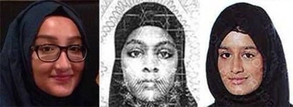 İngiliz basını kızlara 'Cihad Gelinleri' adını taktı.