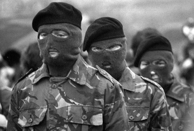 IRA Militanları (ARŞİV)