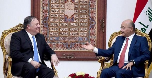 """Irak Cumhurbaşkanı ve Pompeo, """"Suriye'deki Iraklı DAEŞ'lileri görüştü"""" iddiası"""