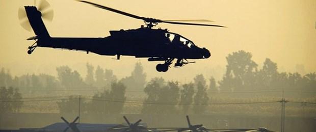 Irak helikopterleri cami vurdu
