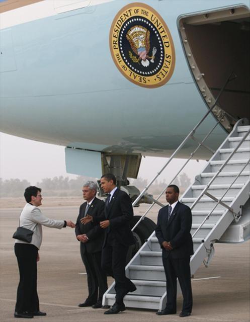 Irak'a sürpriz ziyaret