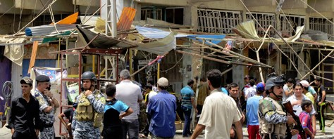 Irak'ta hedef Şii hacılar: 84 ölü