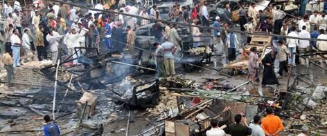 Irak'ta patlama: 32 ölü