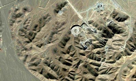 Fordow tesislerinin uydu görüntüsü