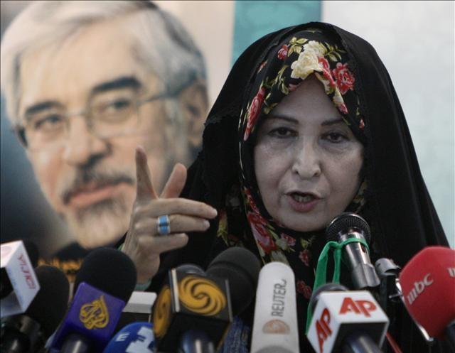 İran seçiminin gündemindeki kadın