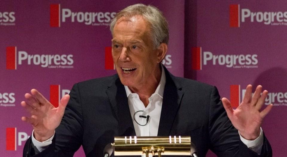 İngiltere eski Başbakanı Tony Blair, İşçi Partisi'ni Corbyn'in lideriği konusunda uyarmıştı.