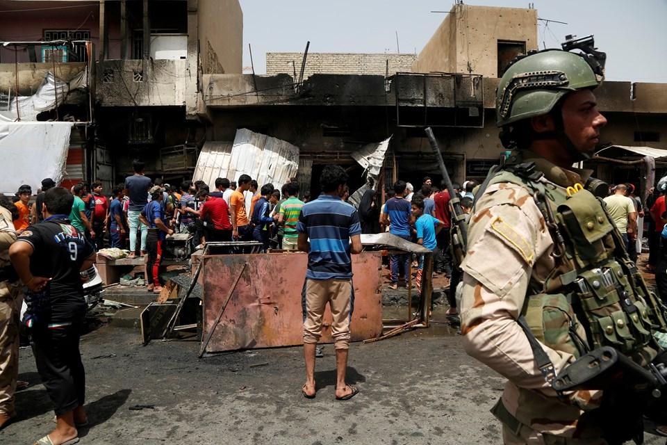 Saldırı Şiilerin yoğunlukta yaşadığı Sadr bölgesinde bulunan işlek bir caddede gerçekleştirildi.