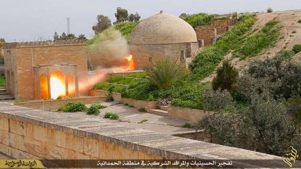 IŞİD bir dünya mirasını daha yok etti
