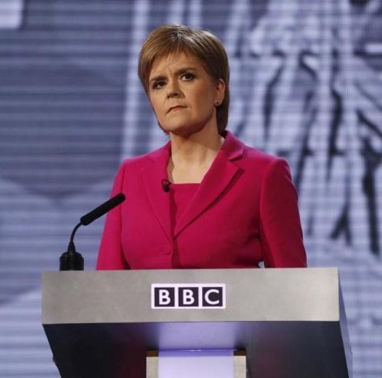 İskoçya bölgesel yönetimi Başbakanı Nicola Sturgeon.