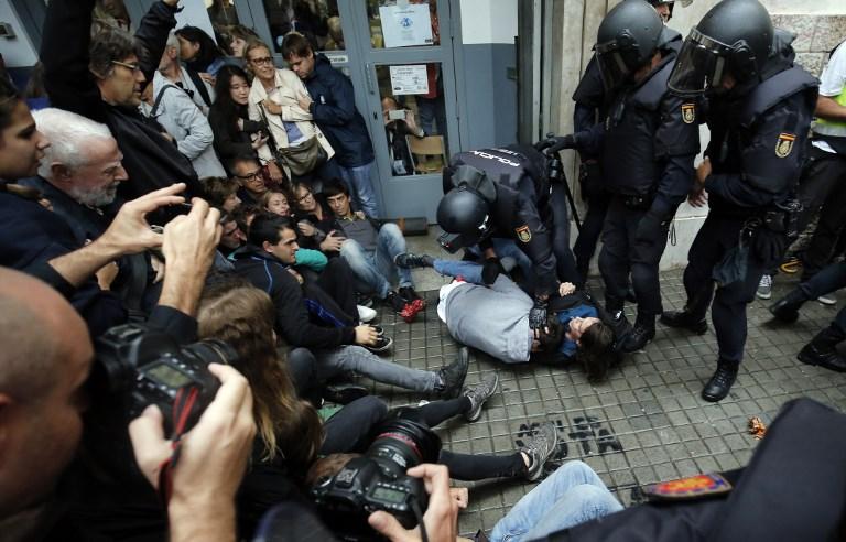 KATALONYA YEREL POLİSİ HAKKINDA SORUŞTURMA