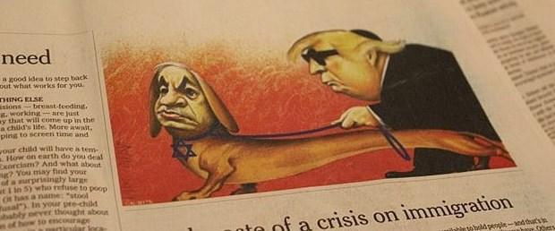 israil trump new york times karikatür120619.jpg