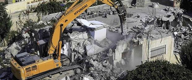 İsrail ev ve camileri yıktı