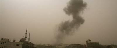 İsrail Gazze şeridini yine bombaladı