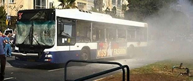 İsrail'de otobüse saldırı: 21 yaralı