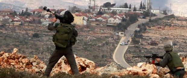 İsrail'den Filistin köyüne baskın