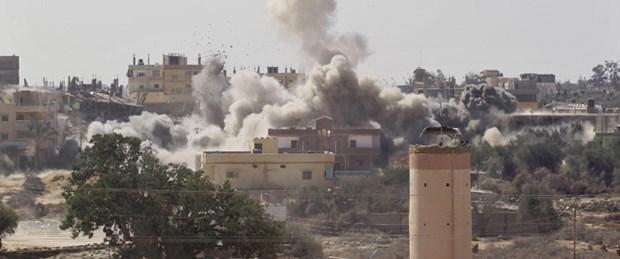 İsrail'den Gazze'ye topçu ateşi : 4 ölü
