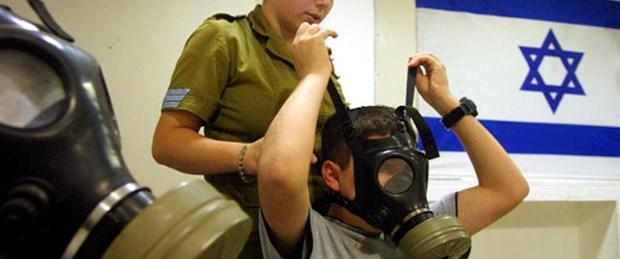 İsrail'den halkına gaz maskesi