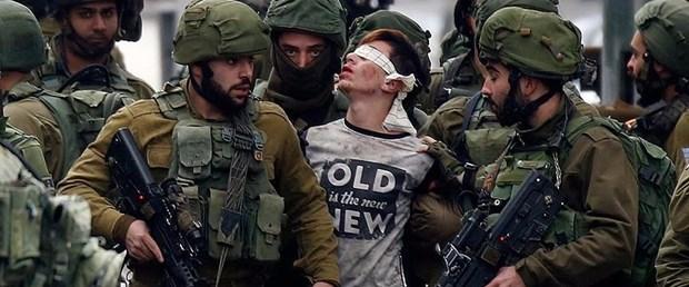 israil filistin gözaltı eylem101217.jpg