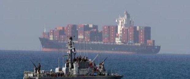 İsrail'den silah yüklü gemiye operasyon