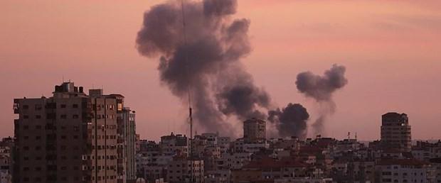 İsrail'in Gazze'ye hava saldırısı