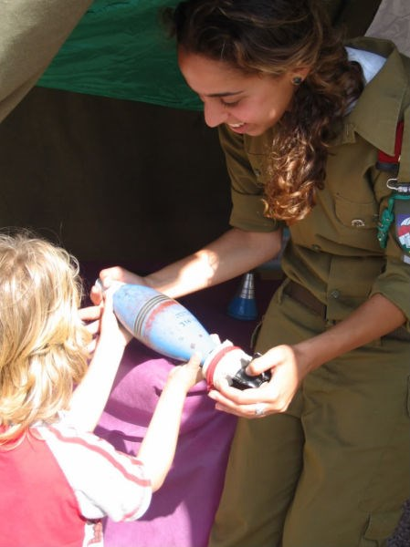İsrail'in kadın askerleri