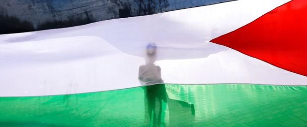 filistin bayrak gösteri