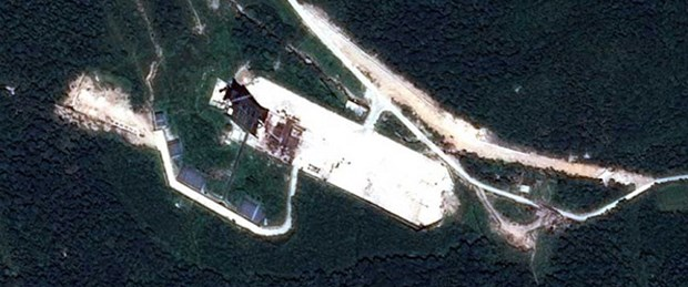 'K.Kore roket fırlatma rampası inşa ediyor'