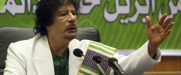 Kaddafi 40 Yıldır iktidarda