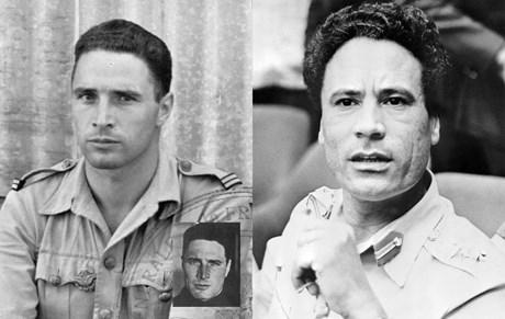 Kaddafi'nin babası olduğu iddia edilen Fransız pilot Preziosi ve Kaddafi'nin gençlik yılları