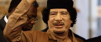 Kaddafi: Libya'dayım ve şehit olmak istiyorum