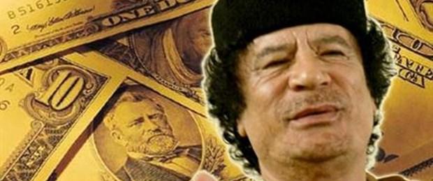 Kaddafi ve ailesinin hesapları donduruldu