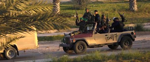 Kaddafi'nin hedefi Misrata