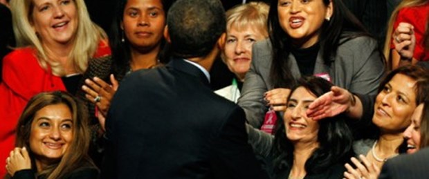 Kadınların Obama'ya verdiği destek eridi