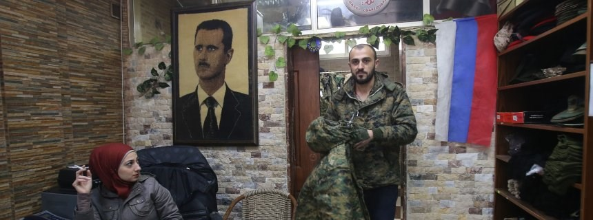 Suriye'de Rus askerlere büyük sempati