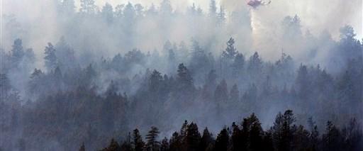Kanada'da orman yangını