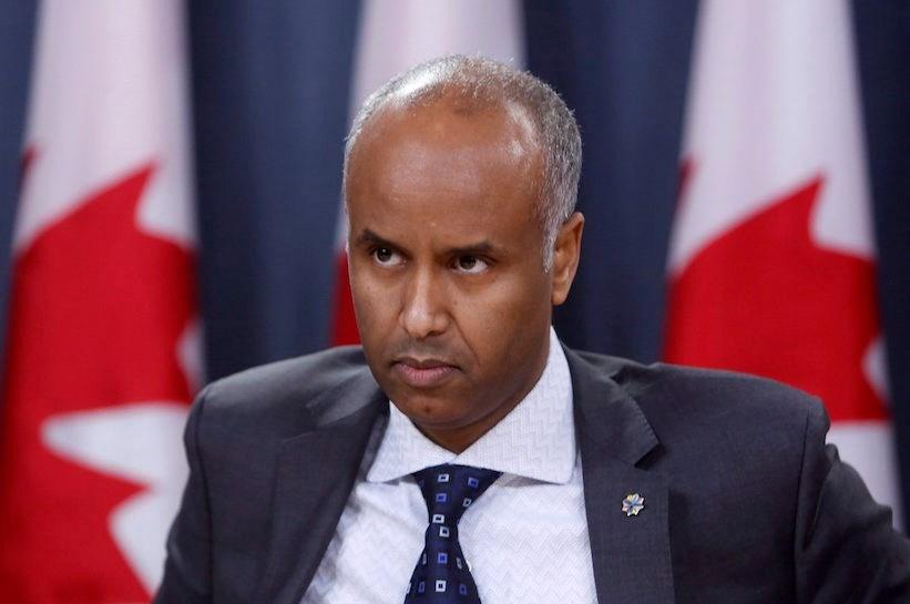 Kanada Vatandaşlık ve Göçmenlik Bakanı Ahmed Hussen