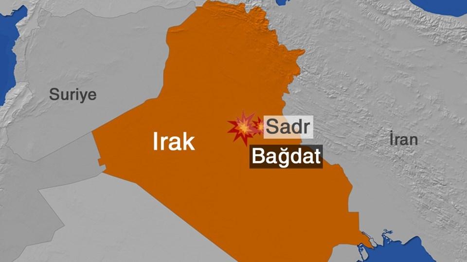Irak'ın başkenti Bağdat'ta kamyon yüklü araçla saldırı düzenlenen Sadr mahallesi Şiilerin yoğun yaşadığı bir bölge.