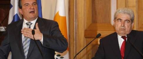 Karamanlis: Kıbrıs için tek garantör AB
