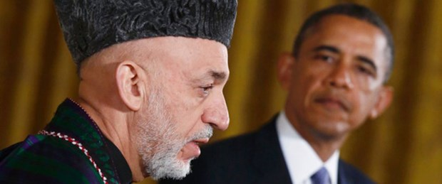 Karzai'ye poşetlerle para taşındı