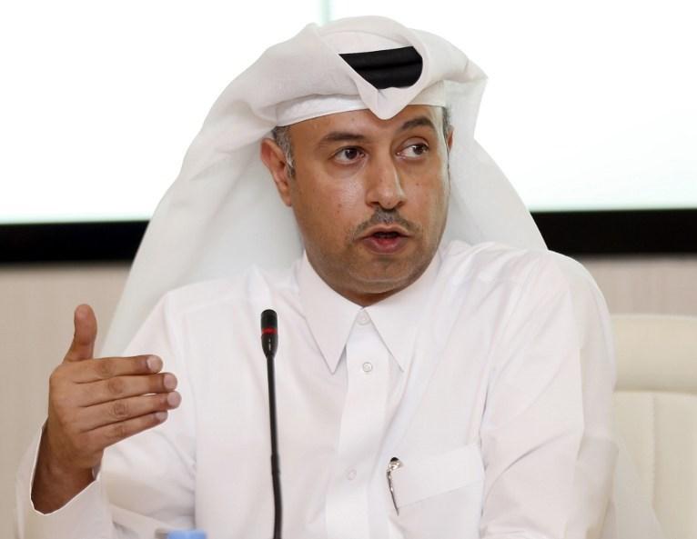 Katar Çalışma Bakanı Issa bin Saad al-Jafali al-Nuaimi