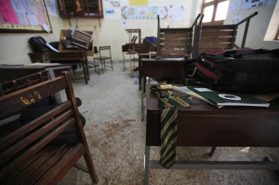 Katliam okulundan geriye kalanlar