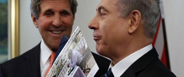 Kerry'den Netanyahu'ya 'barış' övgüsü
