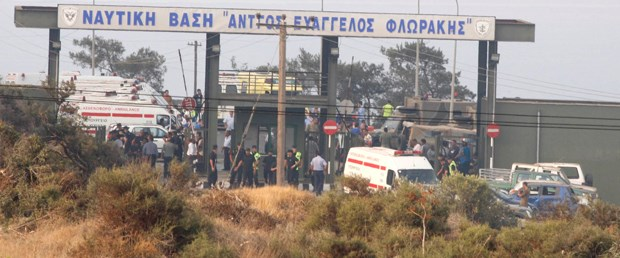 Kıbrıs Rum Kesimi'nde patlama: 12 ölü