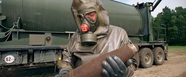 Kimyasal silahı yok ediyorlar