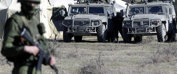 Kırım'da silah sesleri