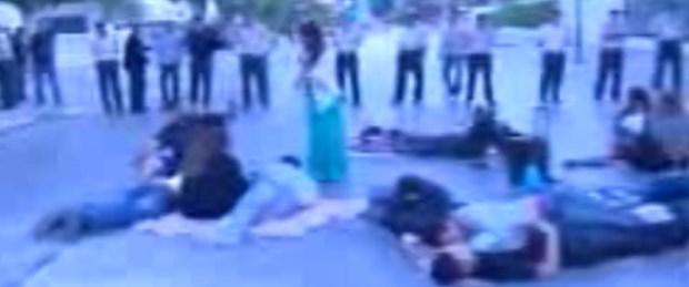 KKTC'de Gezi Parkı'na destek eylemi