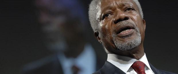 Kofi Annan Suriye özel temsilcisi olarak atandı